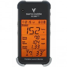 Swing Caddie SC200 Plus Portable Launch Monitor