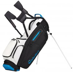 TaylorMade Flextech White/ Black/ Blue Stand Bag