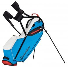 TaylorMade Flextech Lite White/ Blue/ Red Stand Bag