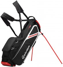 TaylorMade Flextech Lite Stand Bag Black/Blood Orange