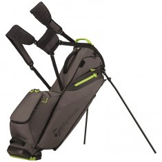 TaylorMade Flextech Lite Grey/Green Stand Bag