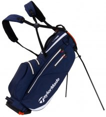TaylorMade Flextech Waterproof Stand Bag Navy/White/Red