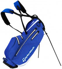 TaylorMade Flextech Waterproof Stand Bag Royal/White