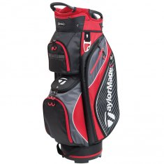 TaylorMade Pro Cart 6.0 Black/ Charcoal/ Red