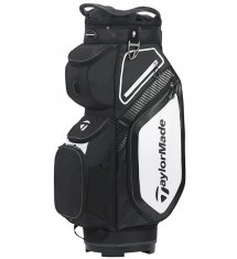 TaylorMade Pro Cart 8.0 Golf Bag Black/White/Charcoal