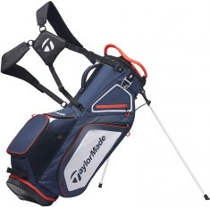 TaylorMade Pro Stand 8.0 Navy/White/Red