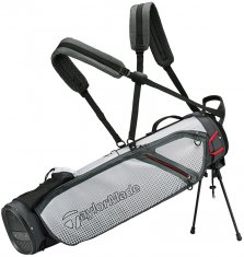 TaylorMade Quiver Stand Bag Grey/White