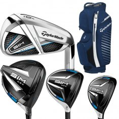 Taylormade Sim Max Package Set With FREE GOLF BAG