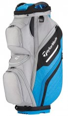 TaylorMade Supreme Cart Bag Grey/ Blue