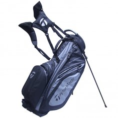 TaylorMade Waterproof Black/Charcoal Stand Bag