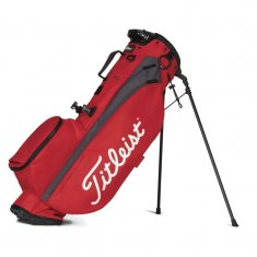 Titleist Players 4 2021 Stand Bag Red/Graphite