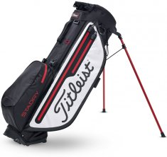 Titleist Players 4 Plus STADRY Stand Bag Black/White/Red