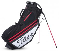 Titleist Hybrid 14 Stand Bag Black/White/Red