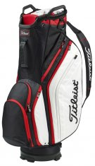 Titleist Lightweight Cart Bag Black/White/Red