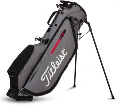 Titleist Players 4 Stand Bag Sleet/Black