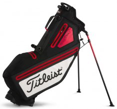 Titleist Players 4 StaDry Stand Bag Black/ White/ Red