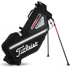 Titleist Players 4 StaDry Stand Bag Black/ Sleet/ Red