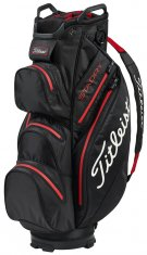 Titleist STADRY Cart Bag Black/Red