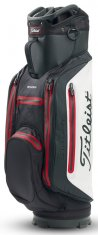 Titleist StaDry Lightweight Cart Bag Black/ White/ Red