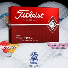 Titleist DT TruFeel Printed With Logo (Minimum 12 Dozen)