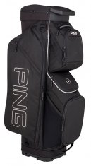 Ping Traverse Cart Bag Black
