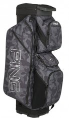 Ping Traverse Cart Bag Black Camo/Platinum