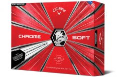 Callaway Chrome Soft Truvis Golf Balls White/ Black 2018