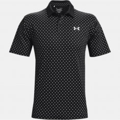 Under Armour Performance Printed Polo Black (001)