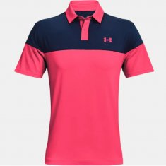 Under Armour T2G Blocked Polo Pink Shock (683)