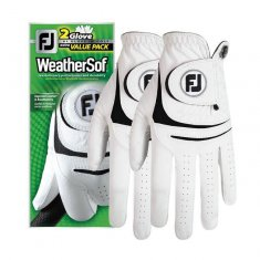 FootJoy WeatherSof Mens Glove 2 Pack