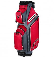 Callaway X Series Cart Bag Red/Titanium/White