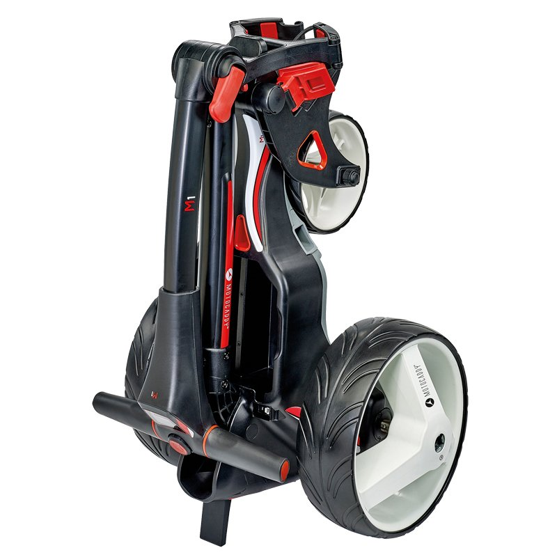 Motocaddy M1 Trolley With 18 Hole Lithium