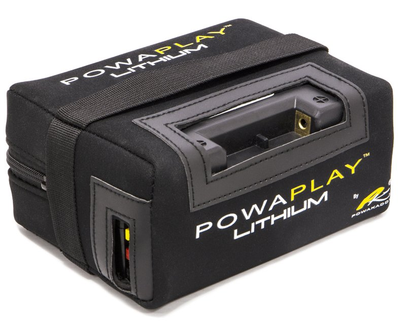 Powakaddy PowaPlay Lithium Battery & Charger 18 Hole