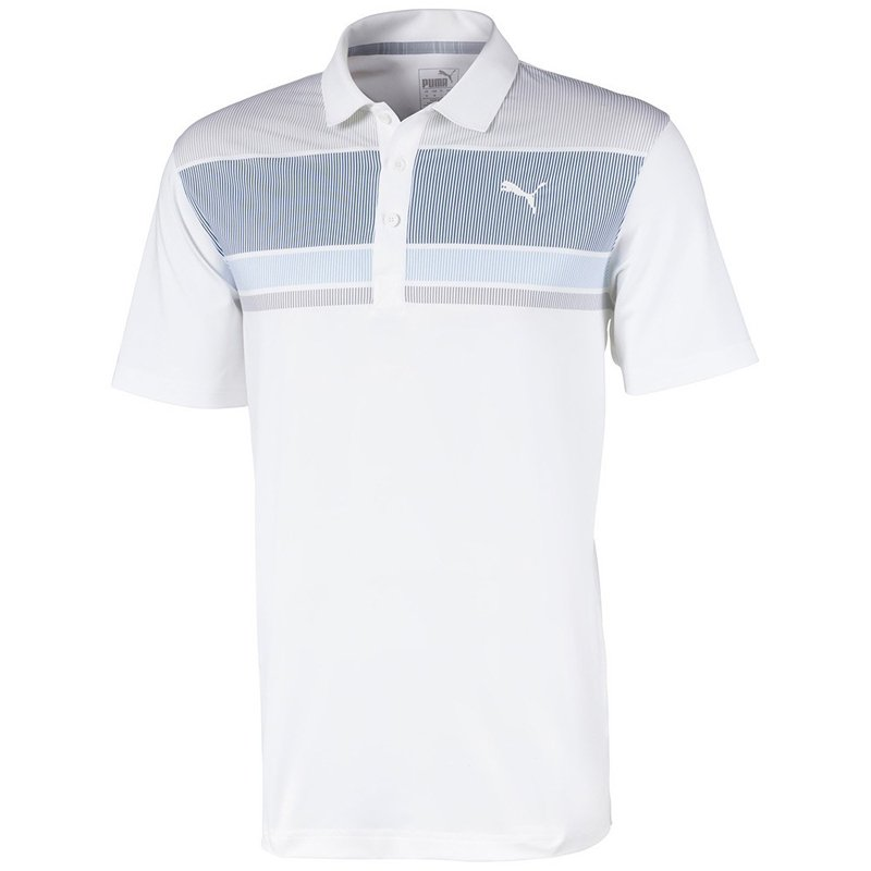 Puma Road Map Polo Shirt Peacoat/Blue Bell