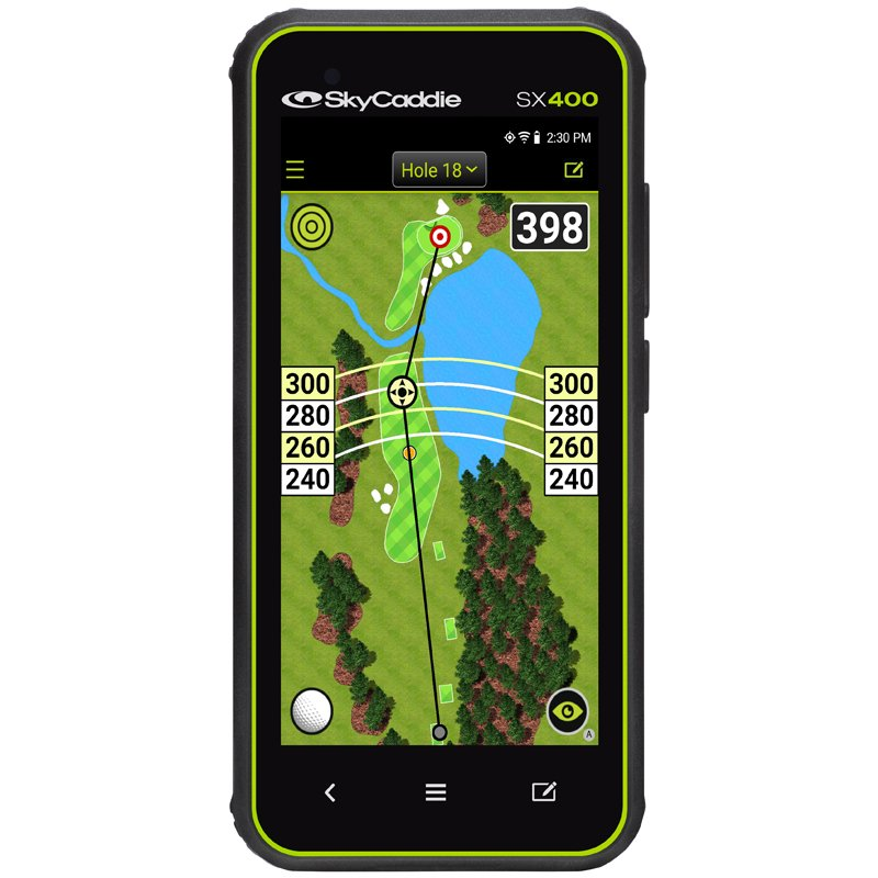 Skycaddie SX400 Golf Rangefinder With Free Accessory